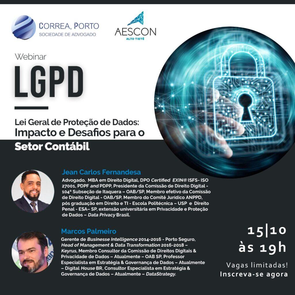 Evento LGPD - 15/10